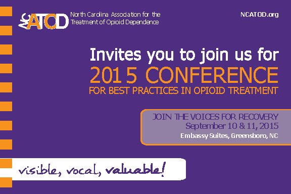 2015 best practice in opioid treatment conference for Consul best practices