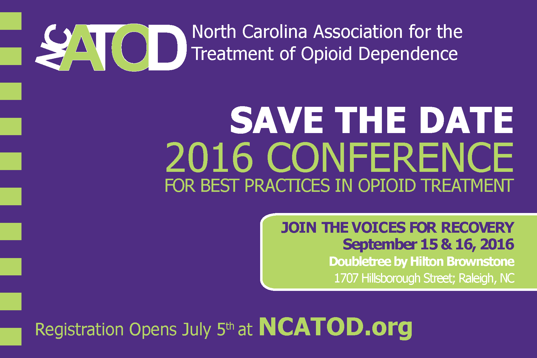 2016 ncatod conference save the date ncatod org